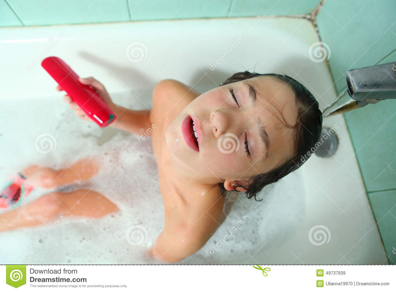 boy bath Teen