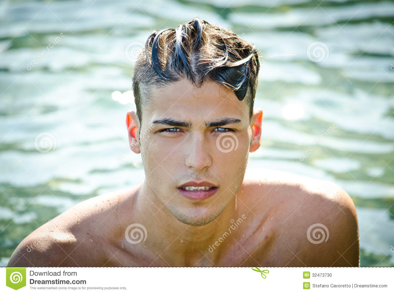 how to make hair look wet guys