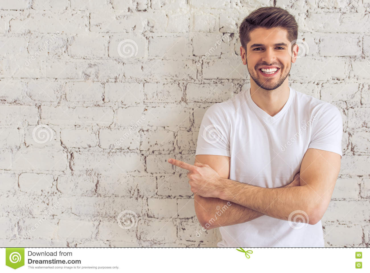 Download Handsome young man stock image. Image of business, athletic - 70835809