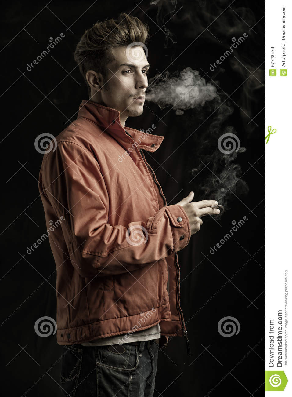 Opinion you James dean smoking all clear