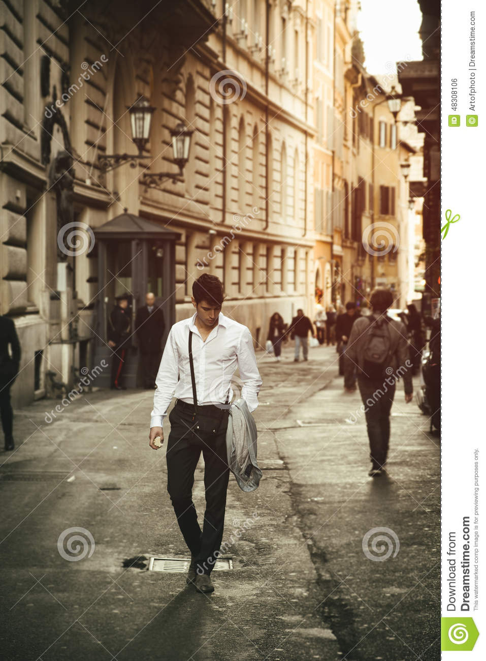 Walking shouldn't be life-threatening – even for 'phone ...  |Person Walking City