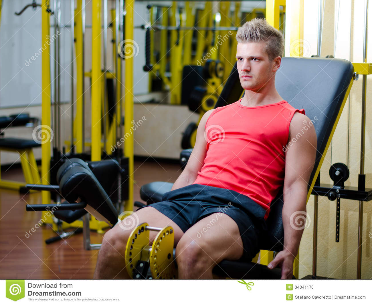 fitness men working out - photo #18