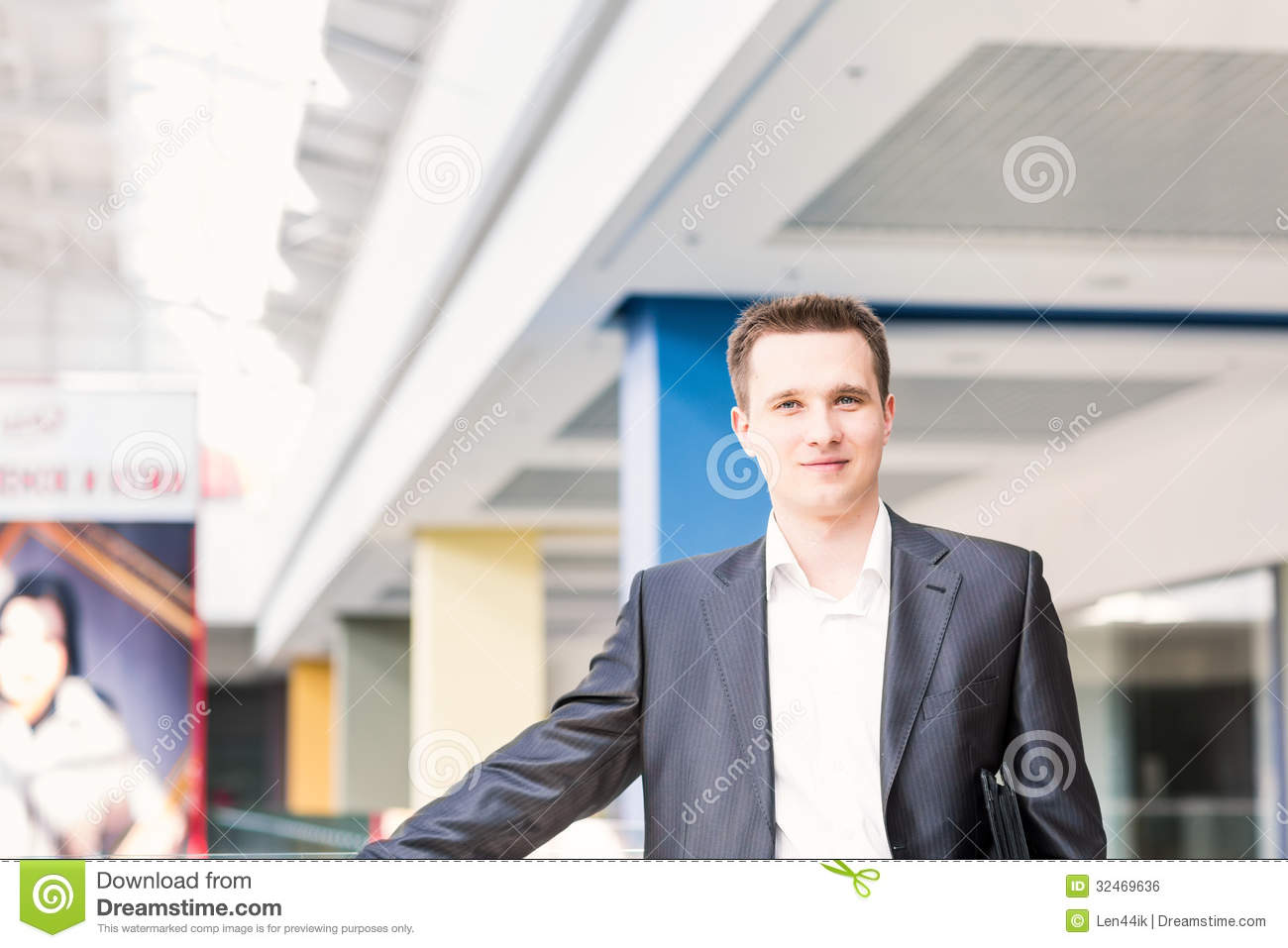 Royalty Free Stock Image  Handsome young and successful businessmanHandsome Businessman Successful
