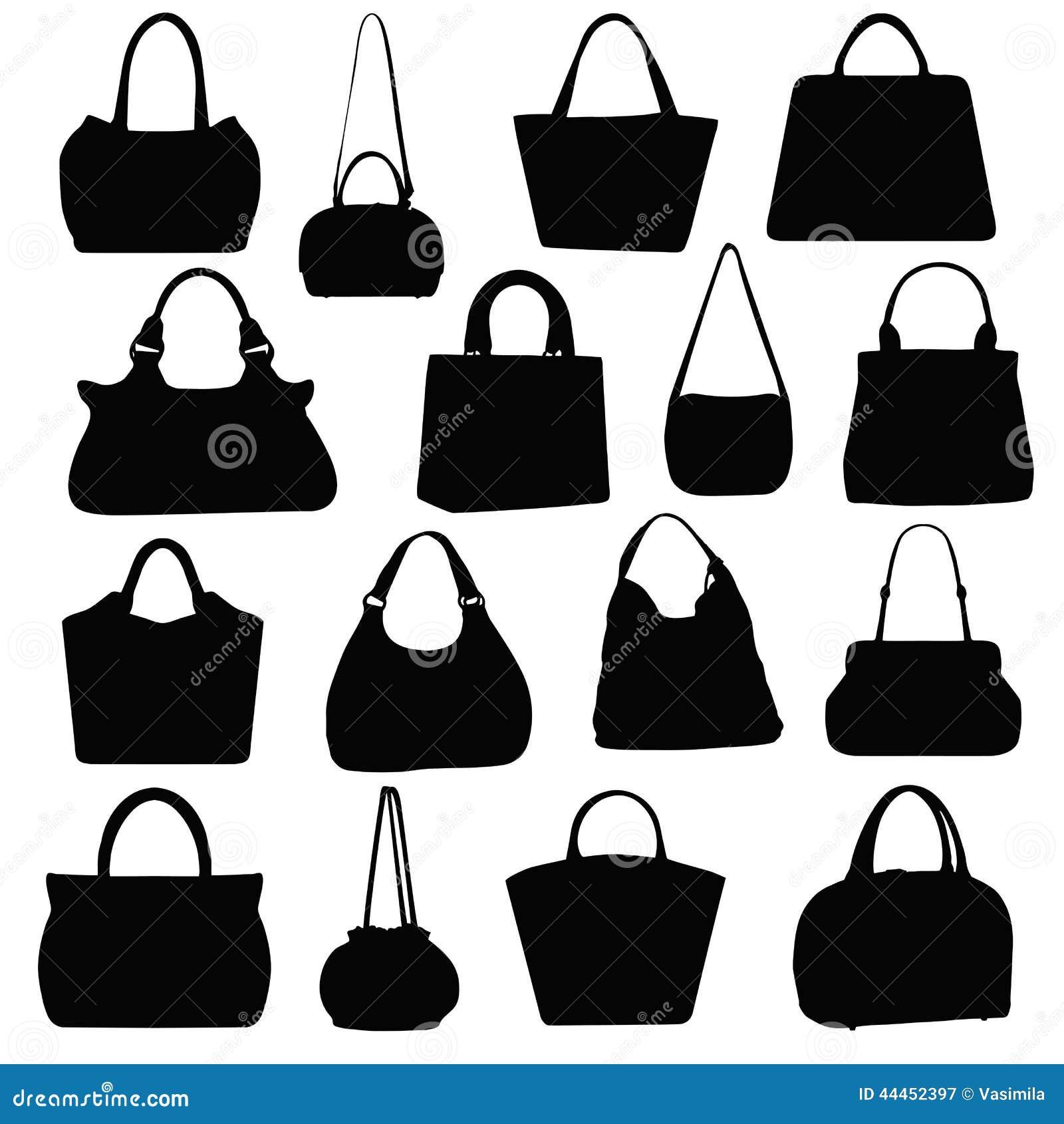handtaschen vektor abbildung bild 44452397. Black Bedroom Furniture Sets. Home Design Ideas