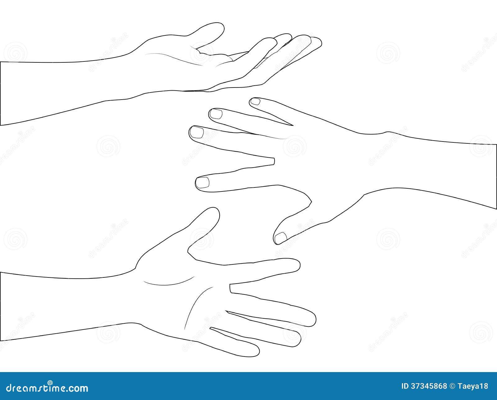 Handuppsättning A