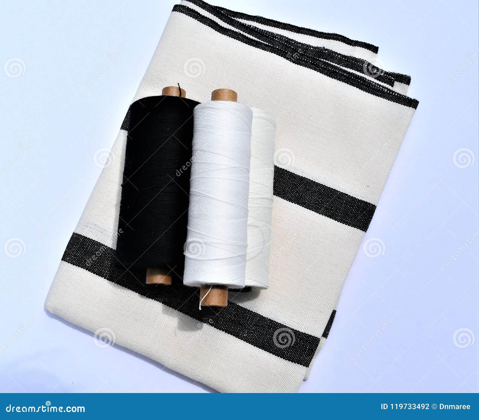 Handwoven bawełny i pościeli ręcznik z przędzami używać robić ręcznikowi tkaniny