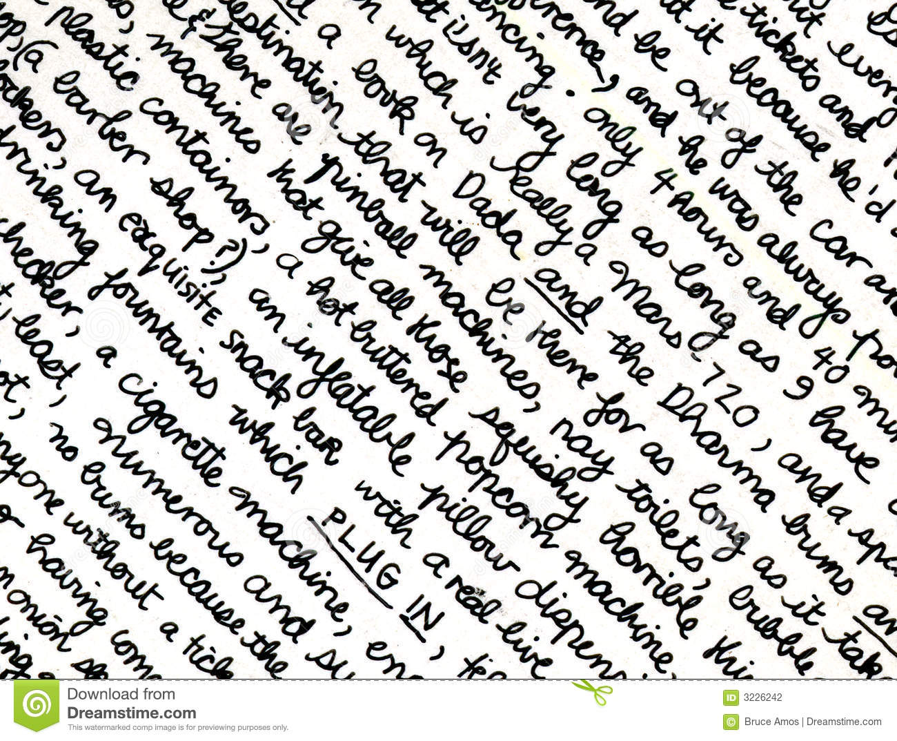 term papers on handwriting