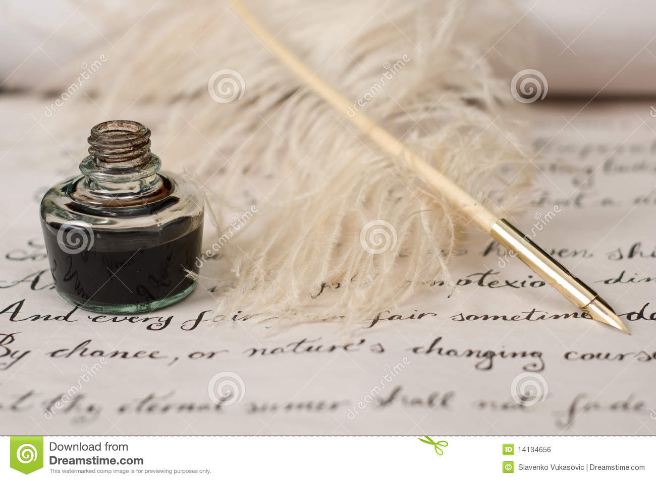 quill writing The quill pen quill pens date to the dark ages thomas jefferson bred special geese to keep himself in writing implements.