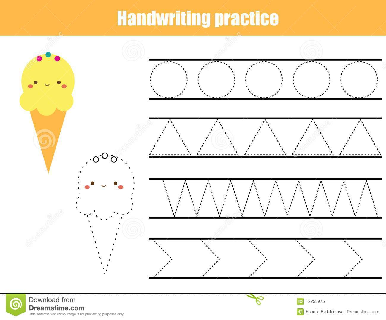 graphic about Printable Line Sheets named Handwriting Coach Sheet. Insightful Little ones Recreation