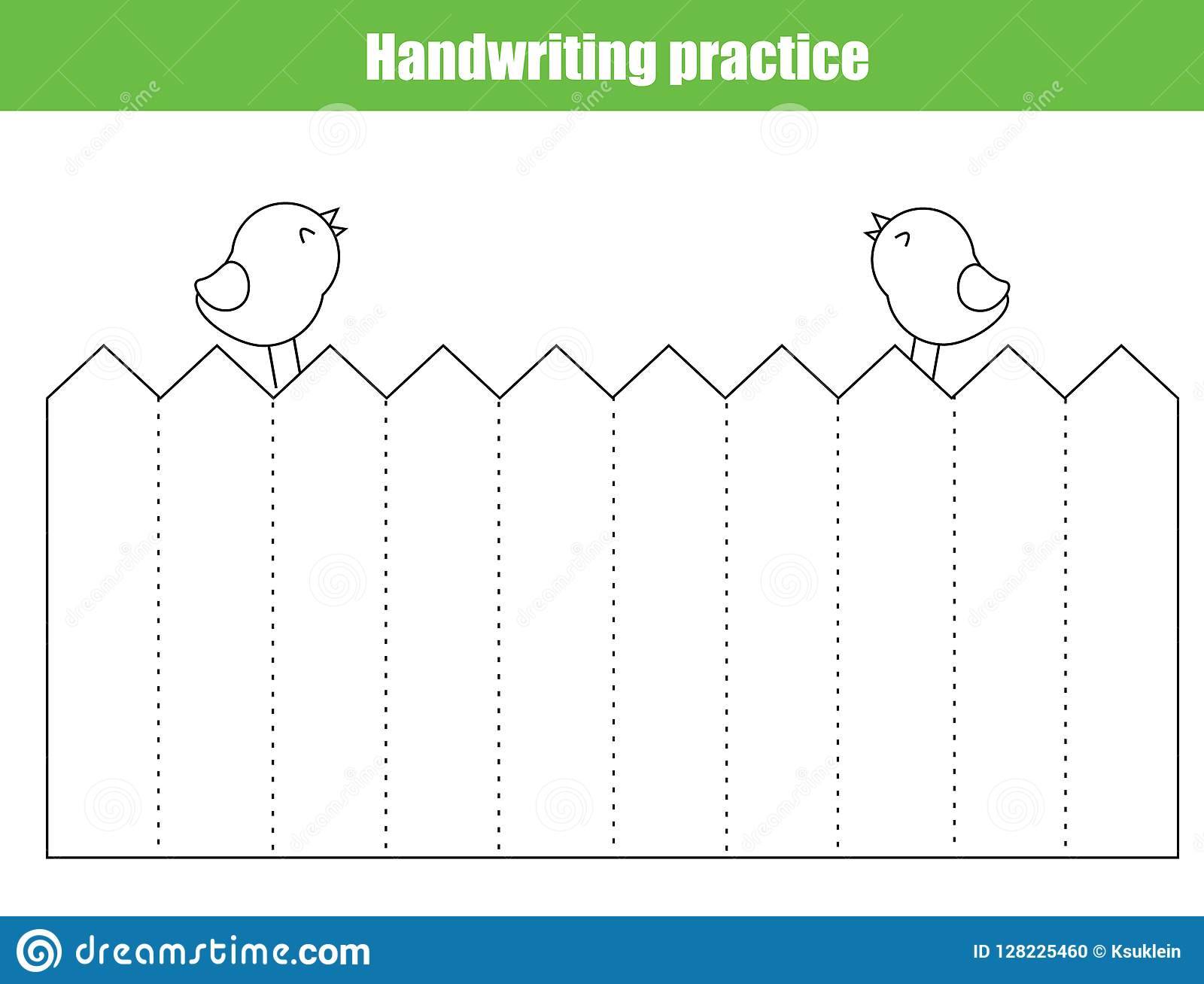 image about Printable Line Sheets called Handwriting Coach Sheet. Enlightening Small children Match