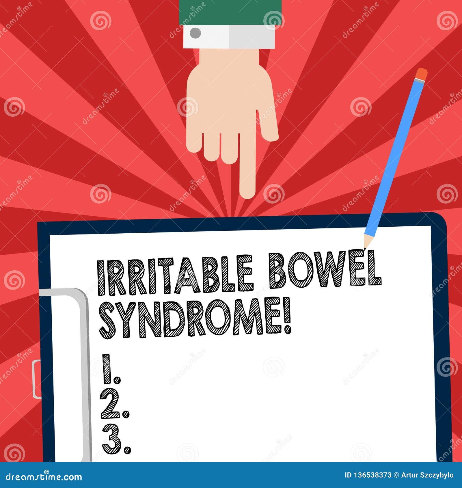 Handwriting tekst pisze Gniewliwej kiszki syndromu Pojęcia znaczenia nieład wymaga brzuszną bólu i biegunki Hu analizy rękę