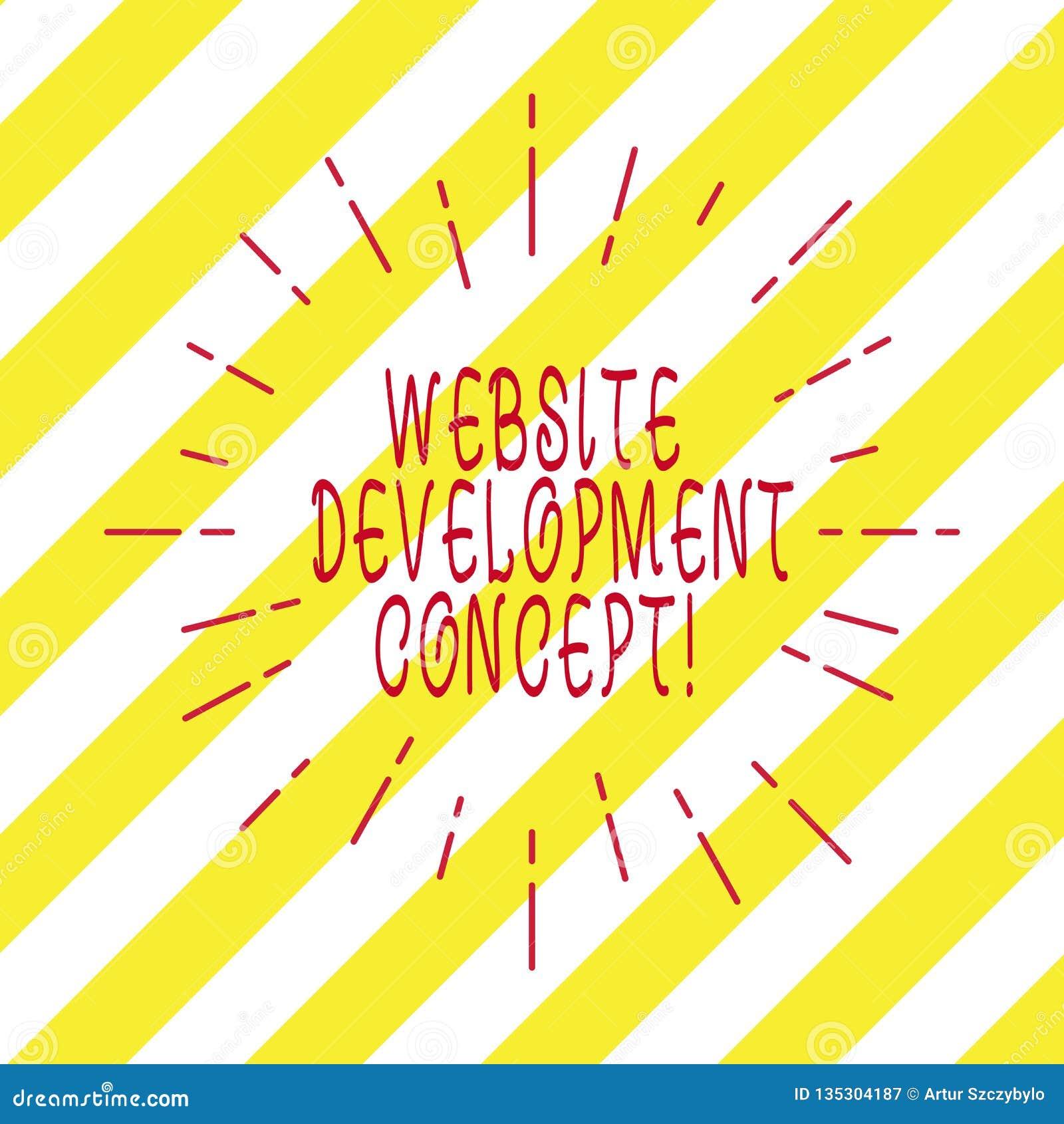 Handwriting tekst pisze strona internetowa rozwoju pojęciu Pojęcia znaczenie rozwija stronę internetową dla Internetowego Cienkie