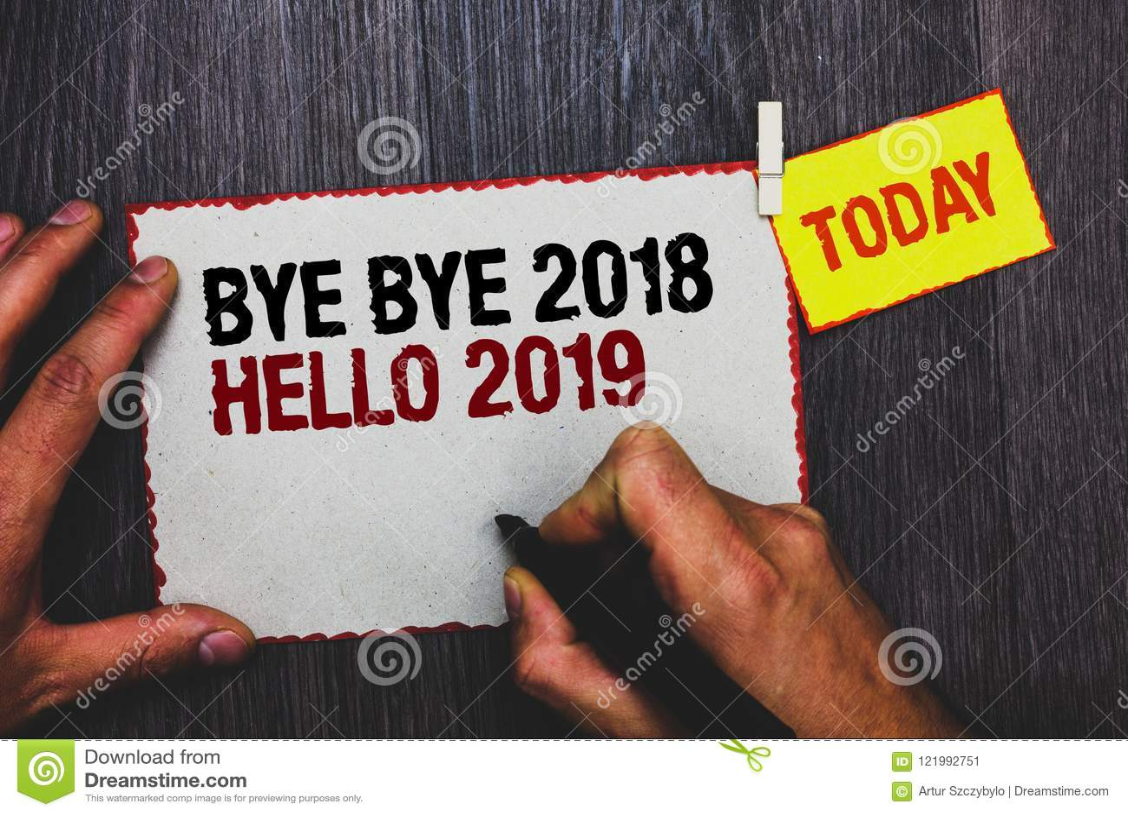 Handwriting teksta writing walkower - walkower 2018 2019 Cześć Pojęcia znaczenie Zaczyna nowy rok Motywacyjną wiadomość 2018 jest