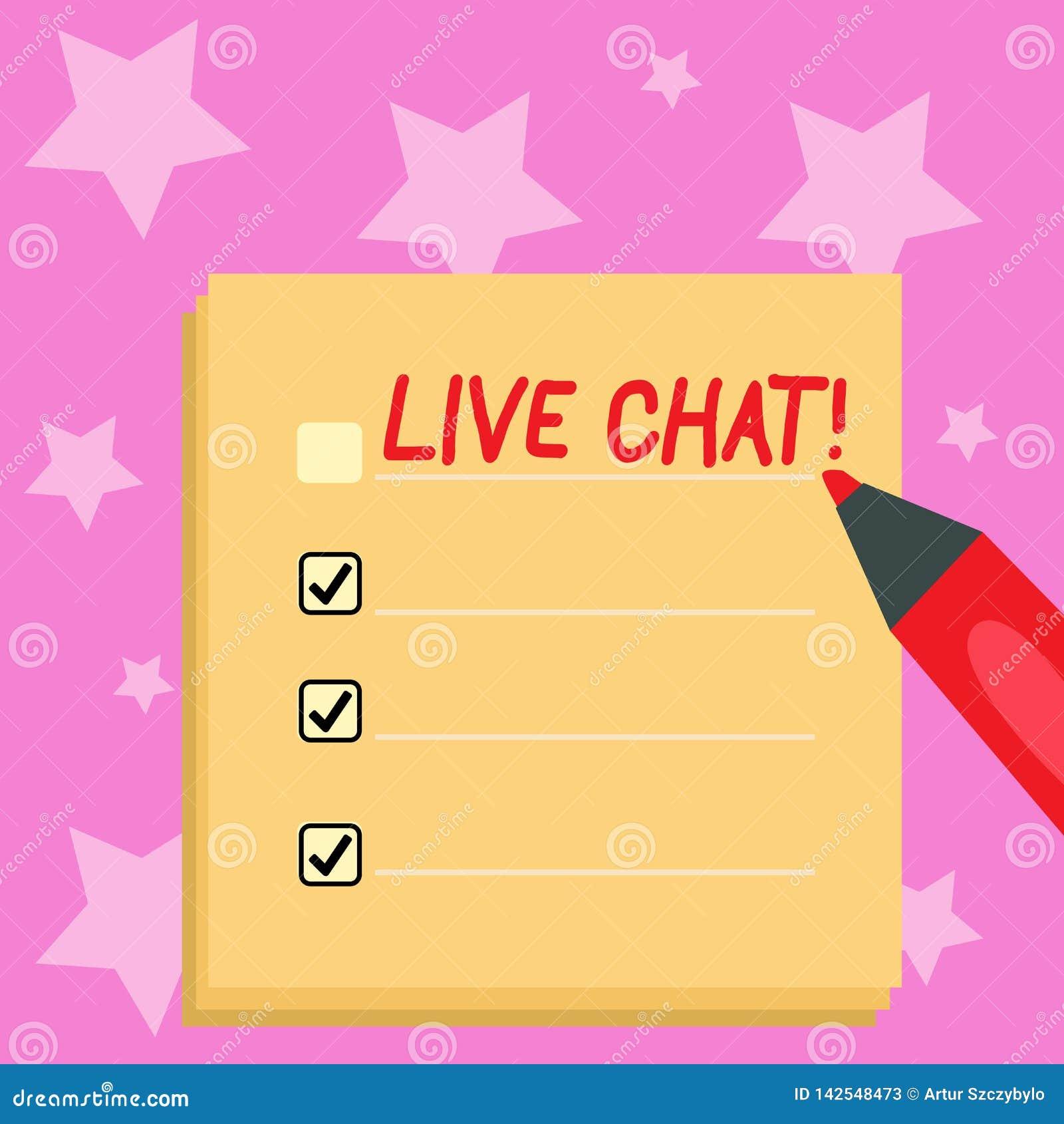 Handwriting teksta writing ?ywa gadka Poj?cia znaczenia Rzeczywista medialna rozmowa Online komunikuje Pusty Kolorowego Robi?