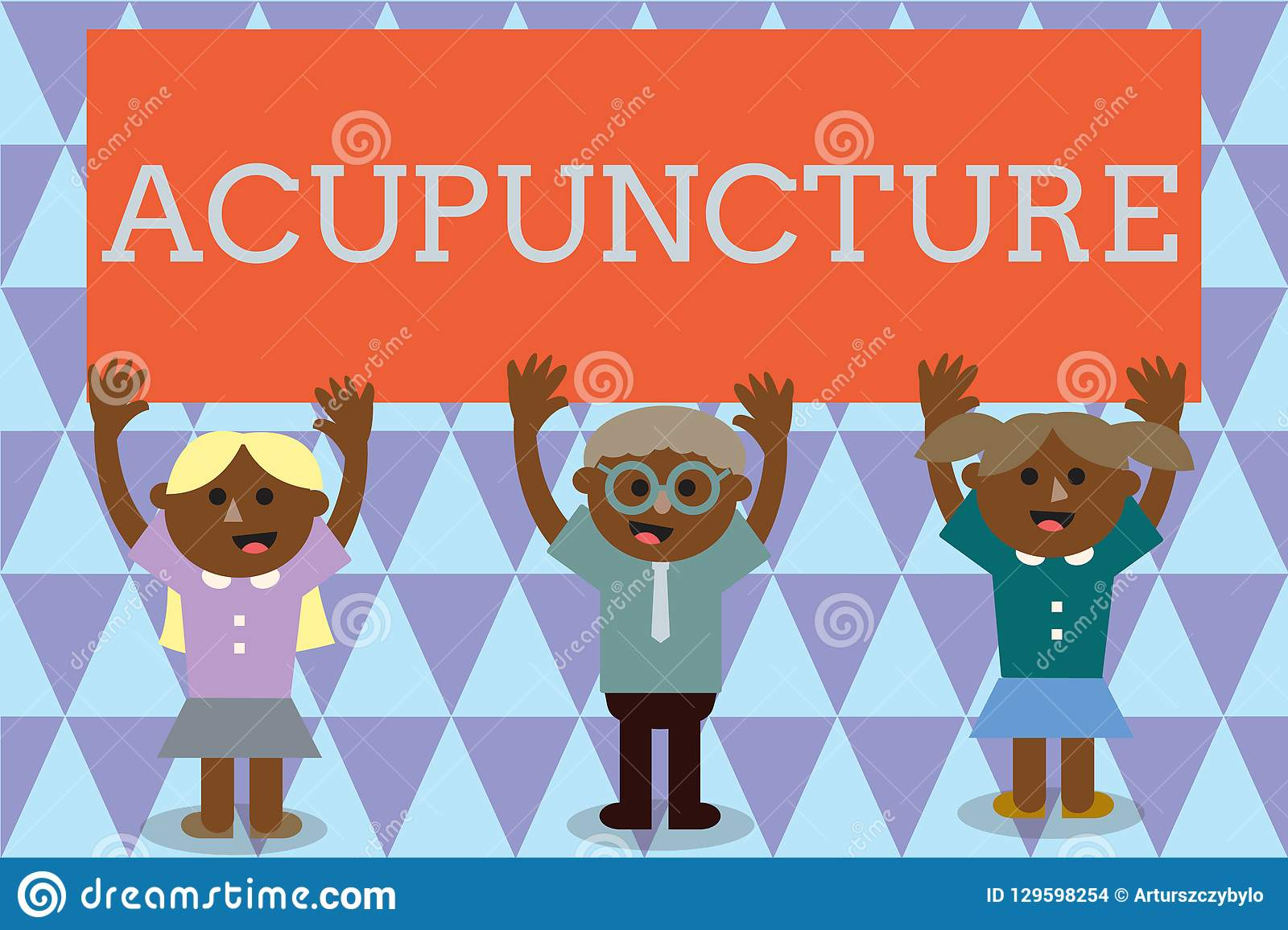 Handwriting Text Acupuncture  Concept Meaning Alternative