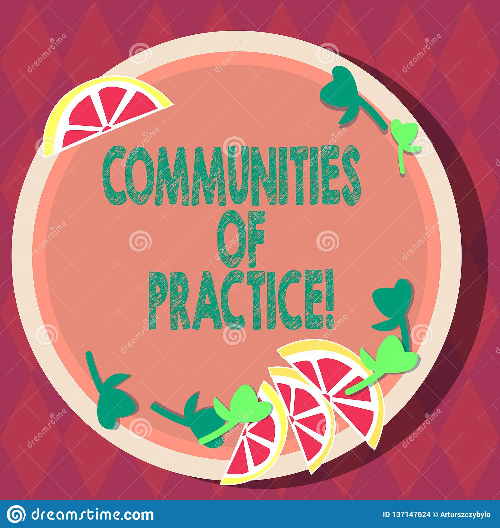 Handwriting Text Communities Of Practice Concept Meaning Group Of