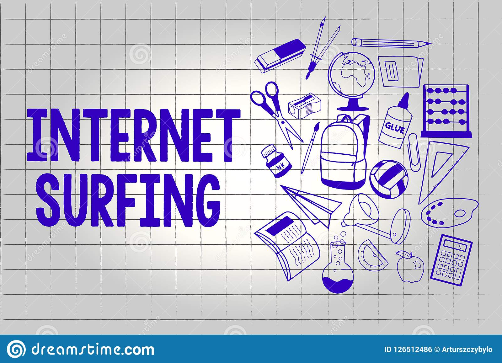 Handwriting Text Internet Surfing Concept Meaning Browsing