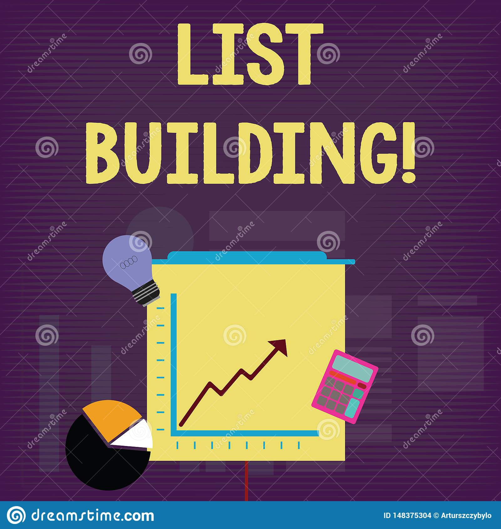 Handwriting Text List Building Concept Meaning Database Of Showing You Can Contact With Your Marketing Message Stock Illustration Illustration Of Analysisagement European 148375304