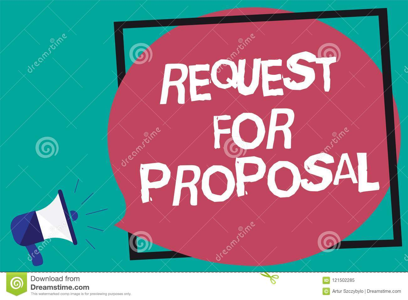 Handwriting Text Request For Proposal  Concept Meaning