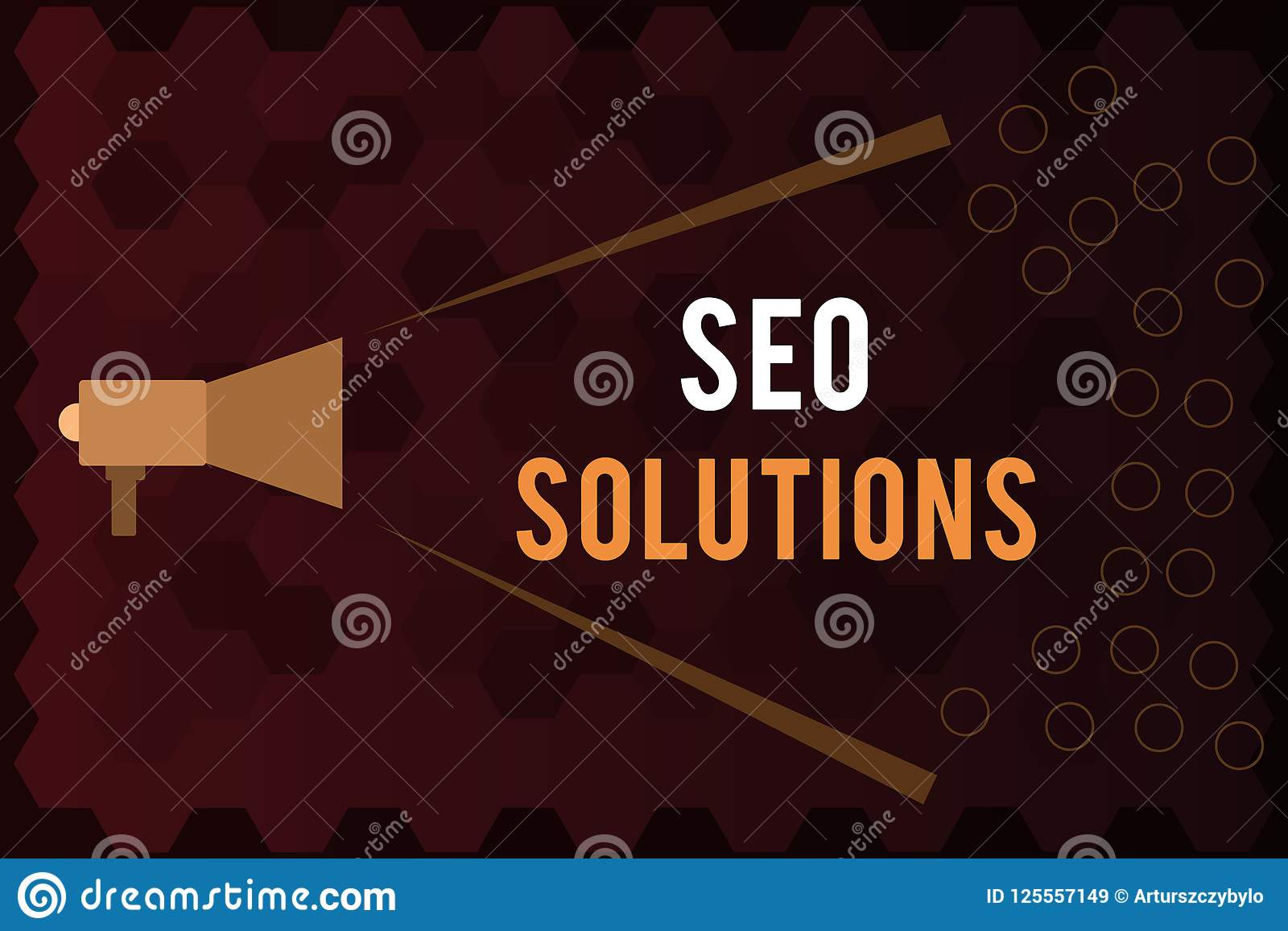 Handwriting text Seo Solutions. Concept meaning Search Engine Result Page Increase Visitors by Rankings