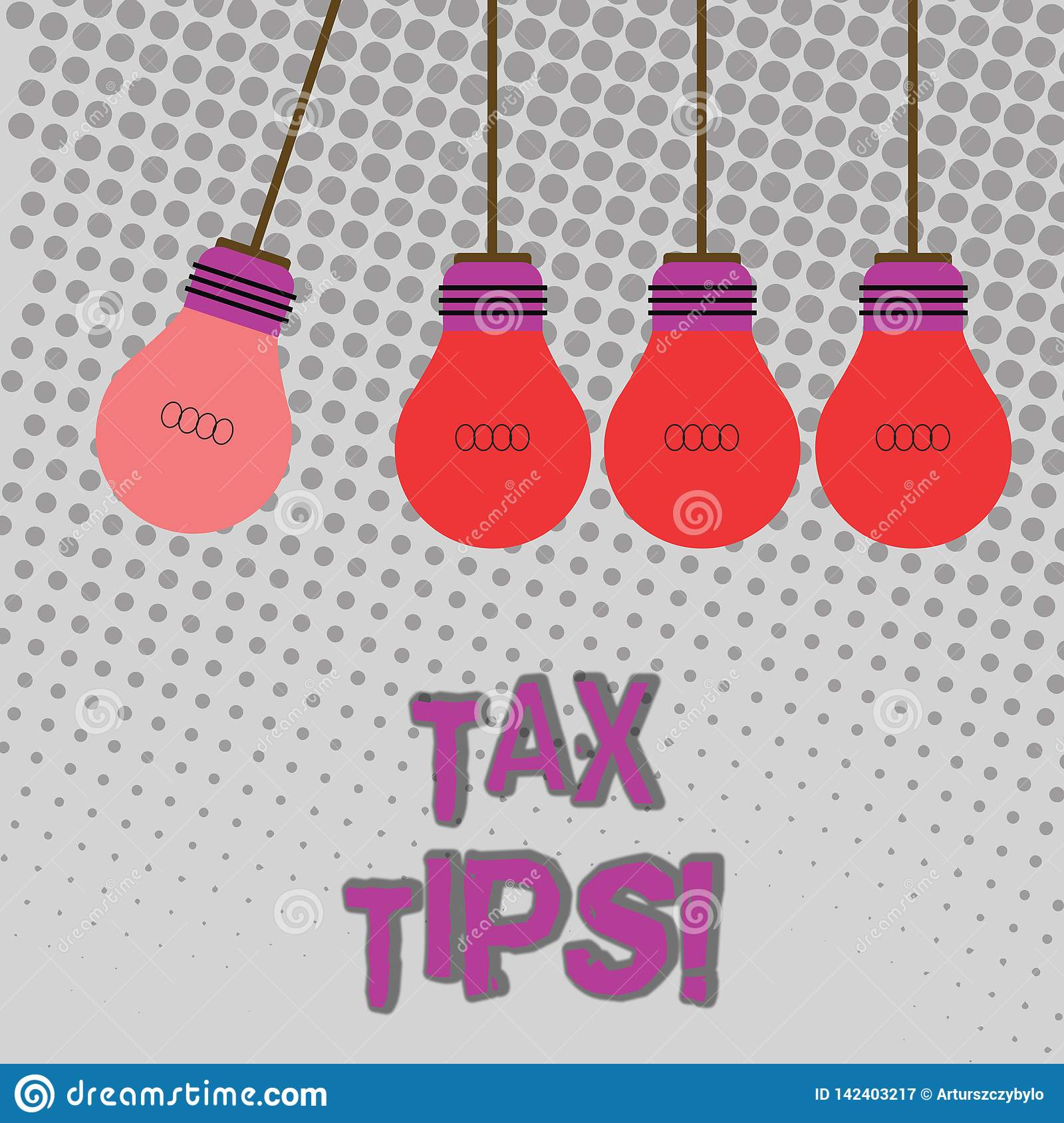 Handwriting Text Tax Tips. Concept Meaning Compulsory Contribution To State Revenue