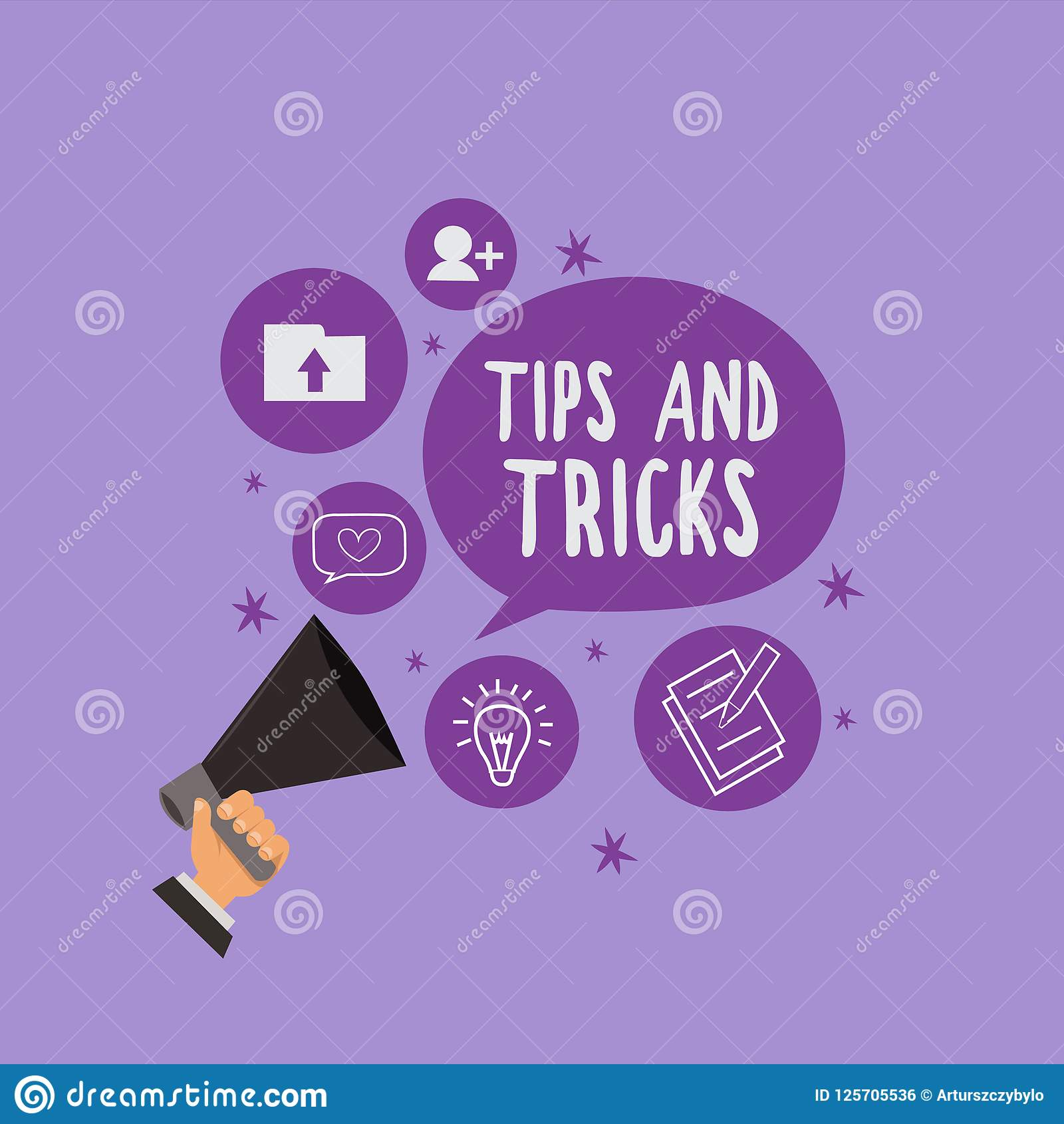 Handwriting Text Tips And Tricks  Concept Meaning Helpful Advices