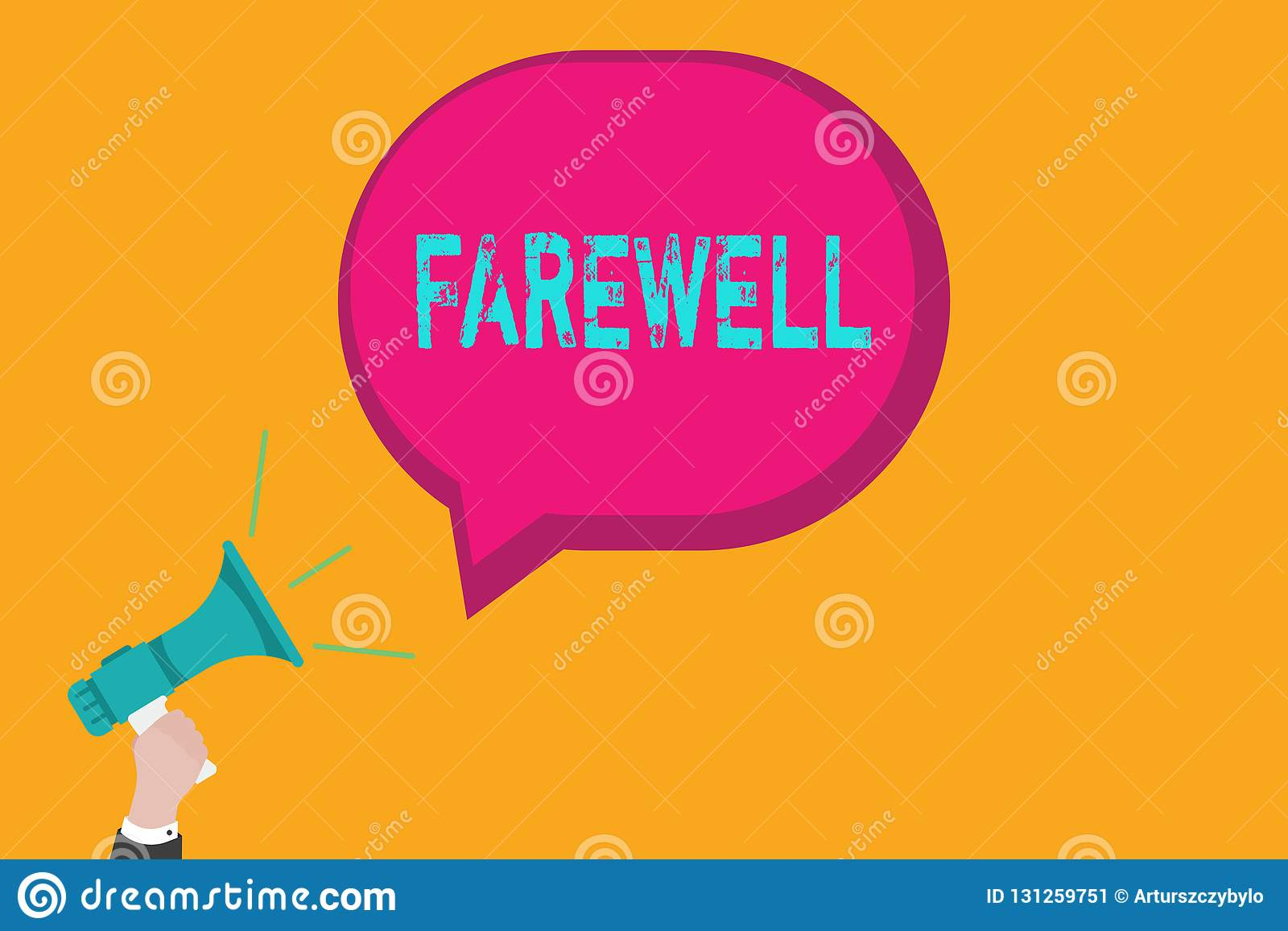 Handwriting Text Writing Farewell Concept Meaning Used To Express Good Wishes On Parting Marking Someones Departure Stock Image Image Of Encouragement Quote 131259751