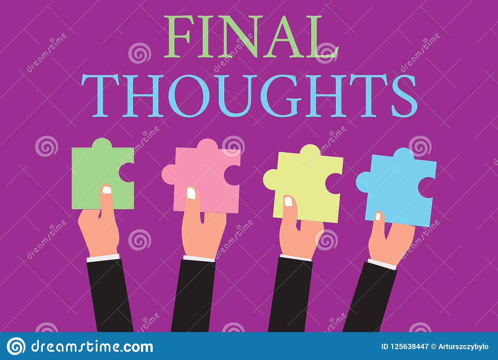 handwriting text writing final thoughts concept meaning conclusion