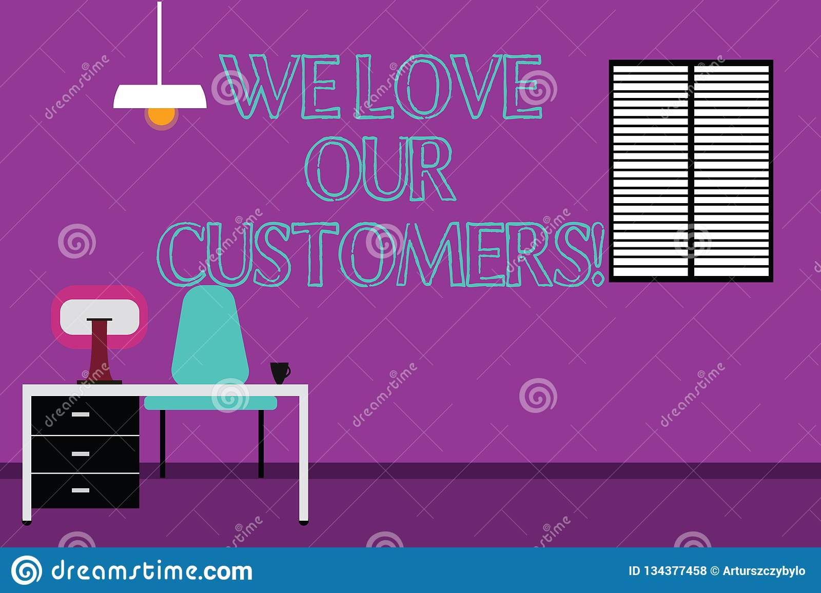 Awesome Handwriting Text Writing We Love Our Customers Concept Home Interior And Landscaping Ologienasavecom