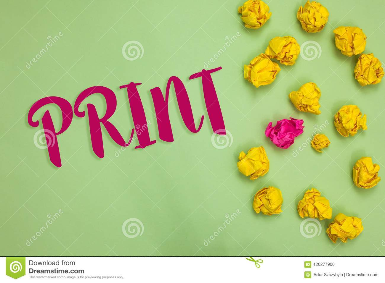 Handwriting Text Writing Print Concept Meaning Produce Letter