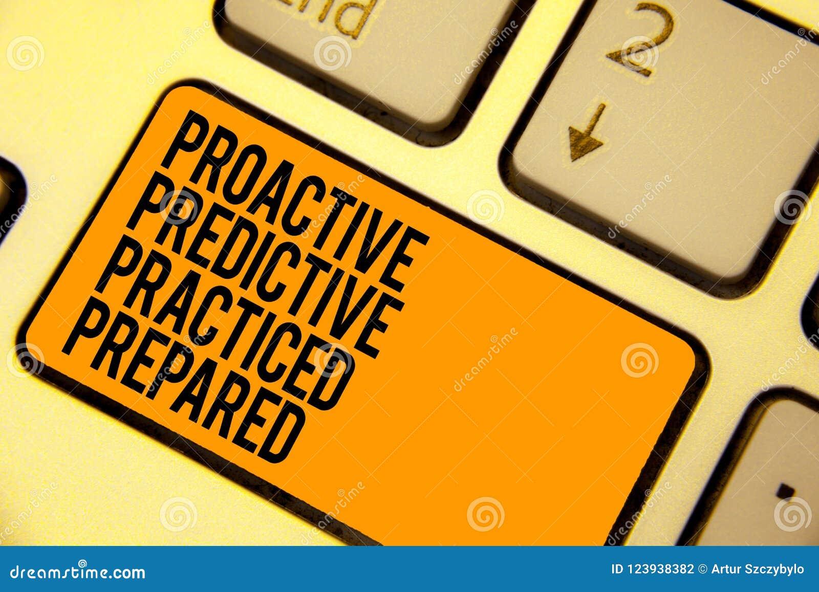 Handwriting Text Writing Proactive Predictive Practiced
