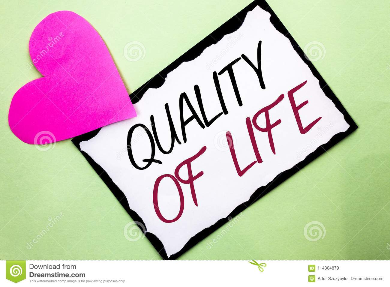quality of life paper