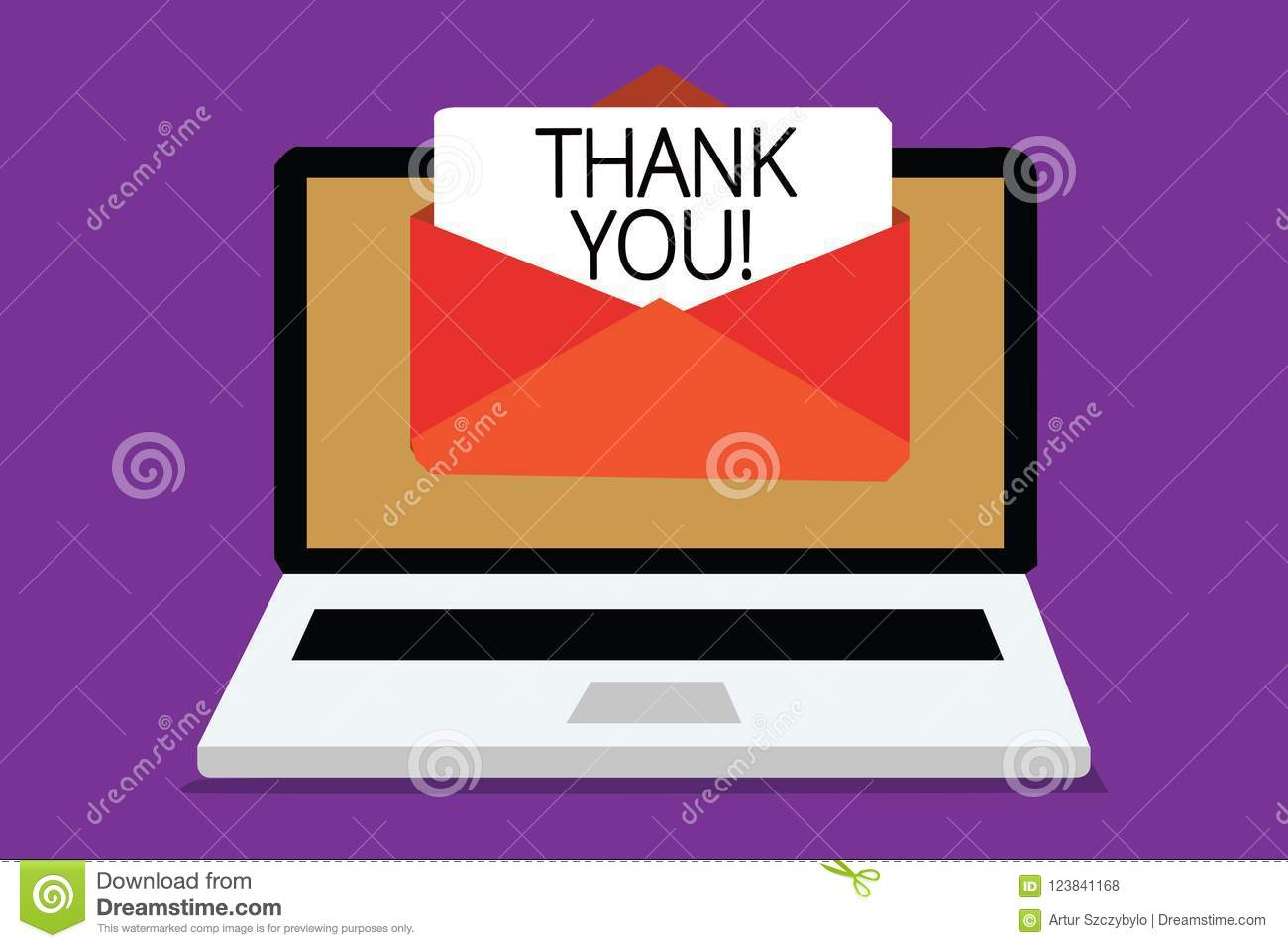 Handwriting Text Writing Thank You Concept Meaning Replaying On