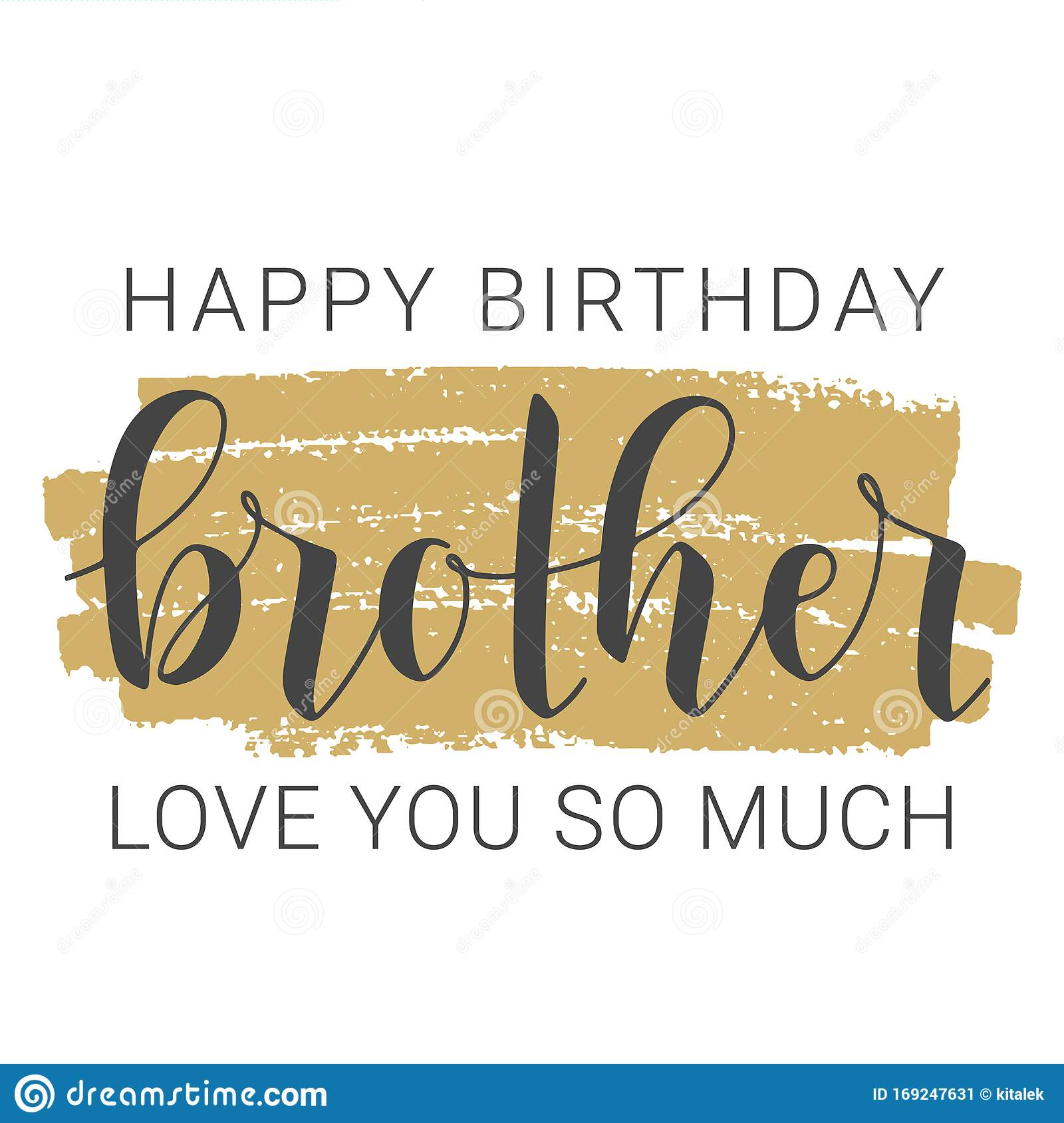 Happy Birthday Brother Stock Illustrations 947 Happy Birthday Brother Stock Illustrations Vectors Clipart Dreamstime