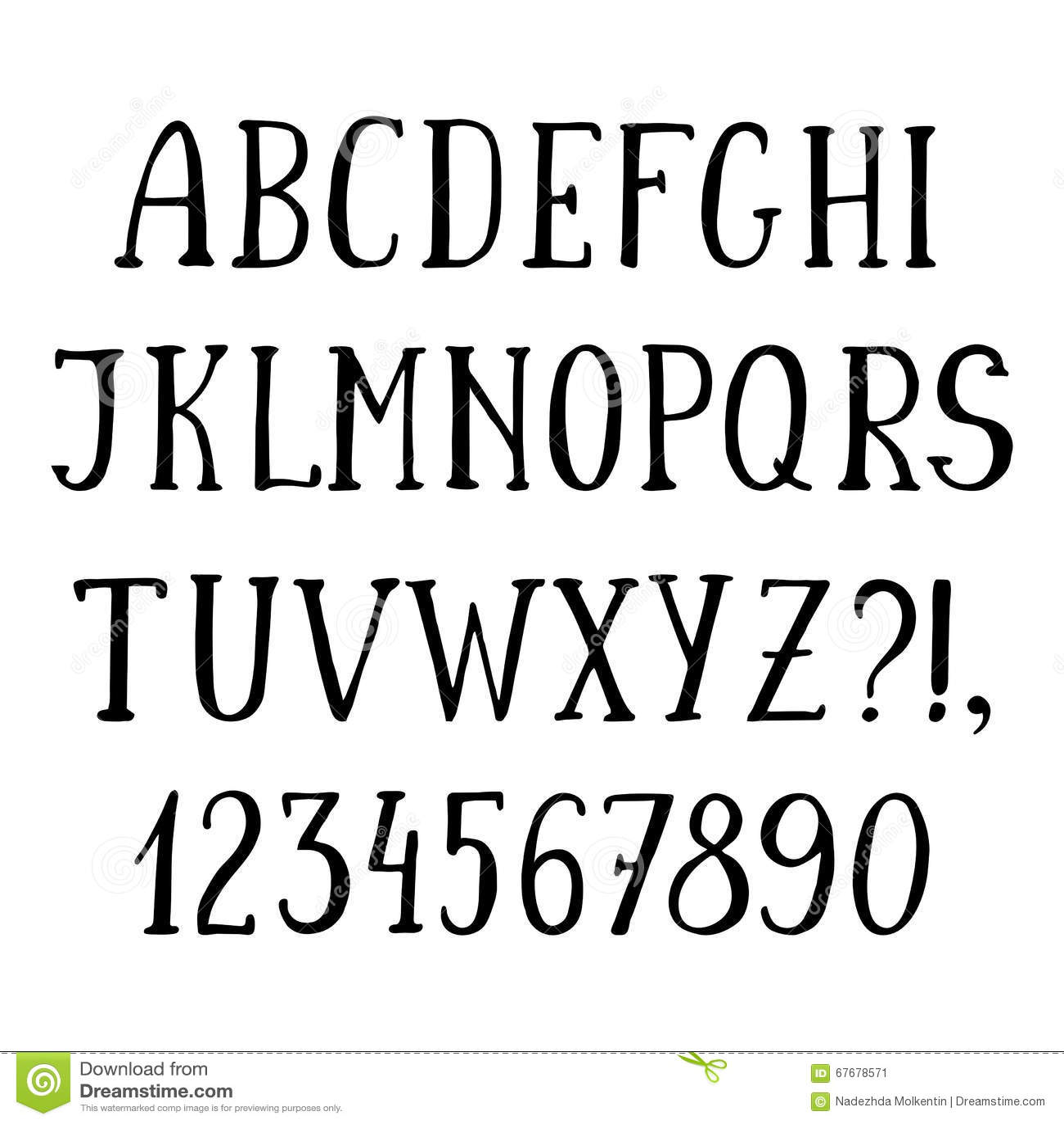 Simple typography alphabet pixshark images