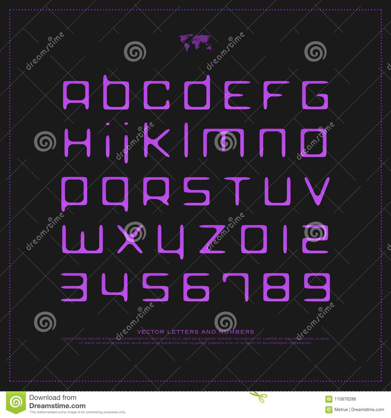 Handwritten style alphabet letters and numbers stock illustration handwritten style alphabet letters and numbers buycottarizona Gallery