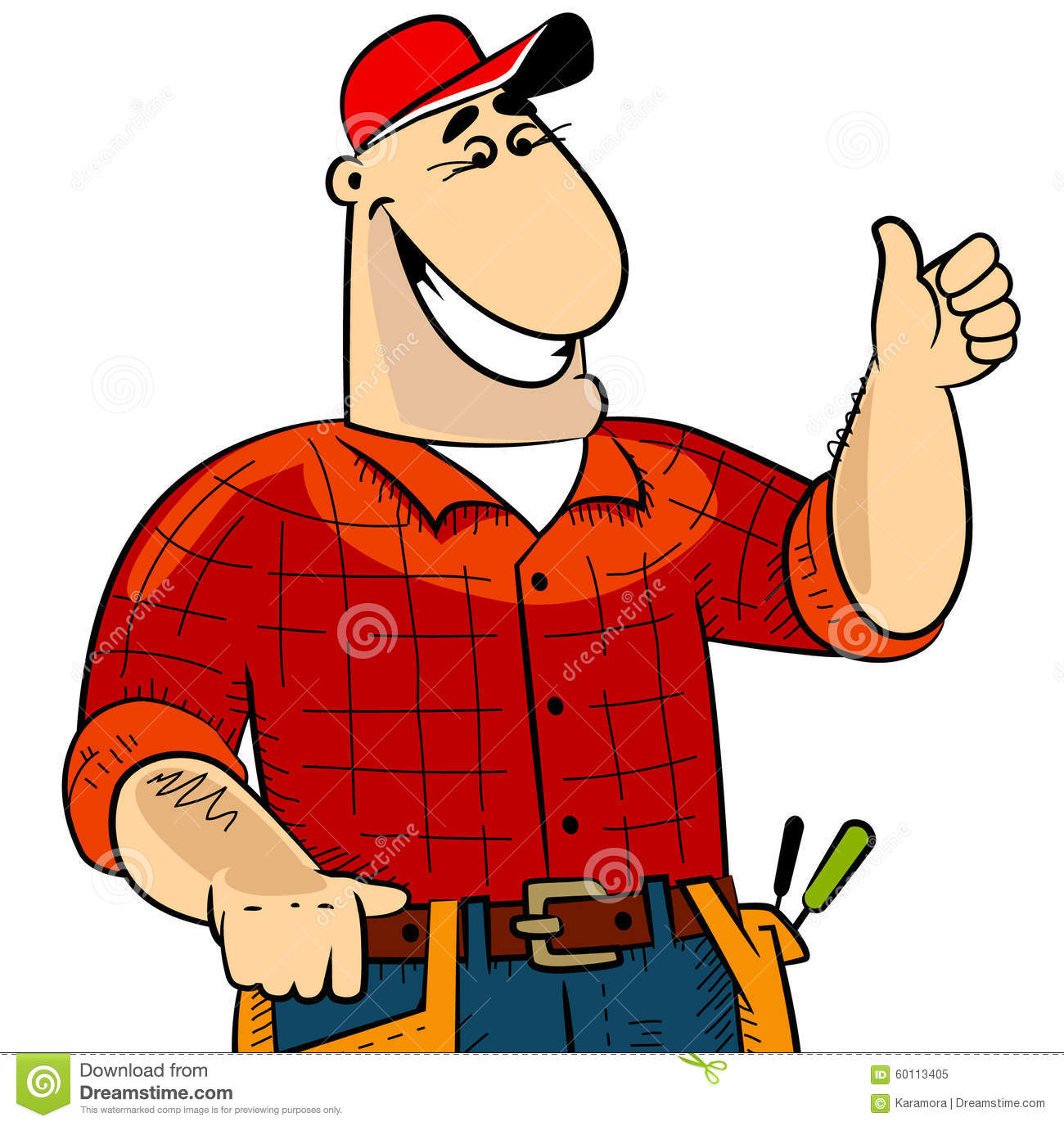 Handyman Stock Vector