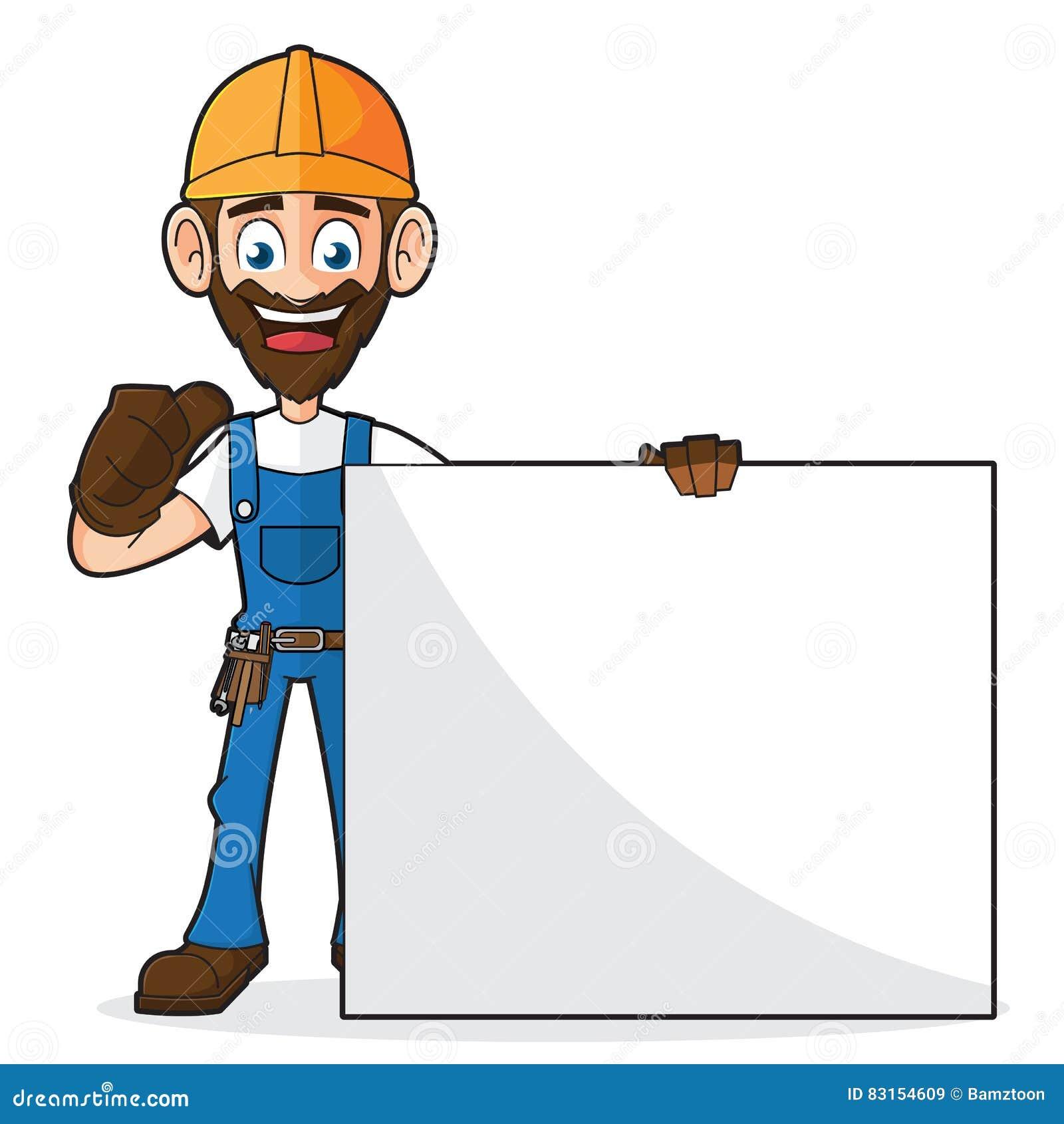 Handyman Handywoman Art Drawing