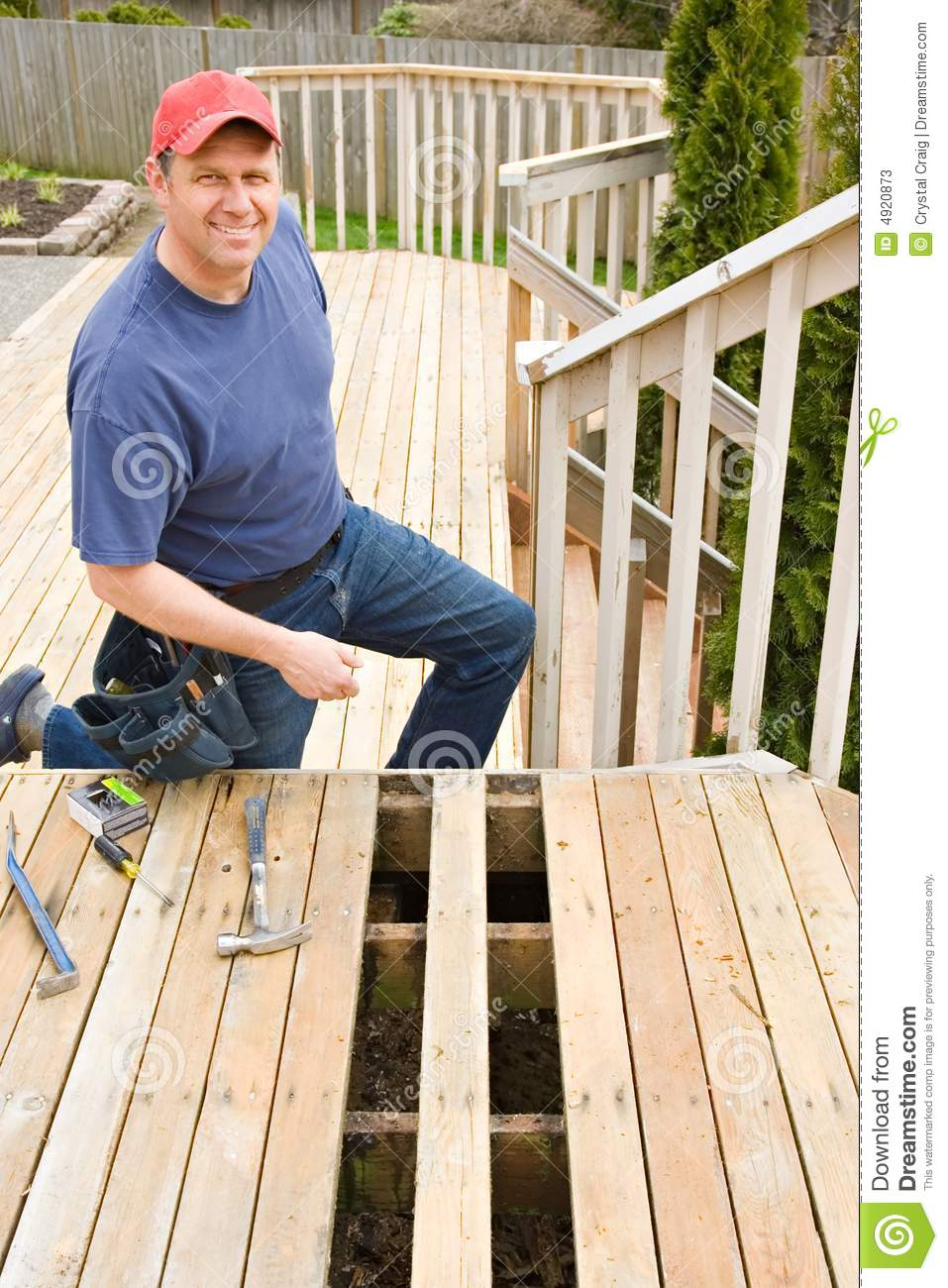 Handyman Home Repair Projects Stock Image Image Of