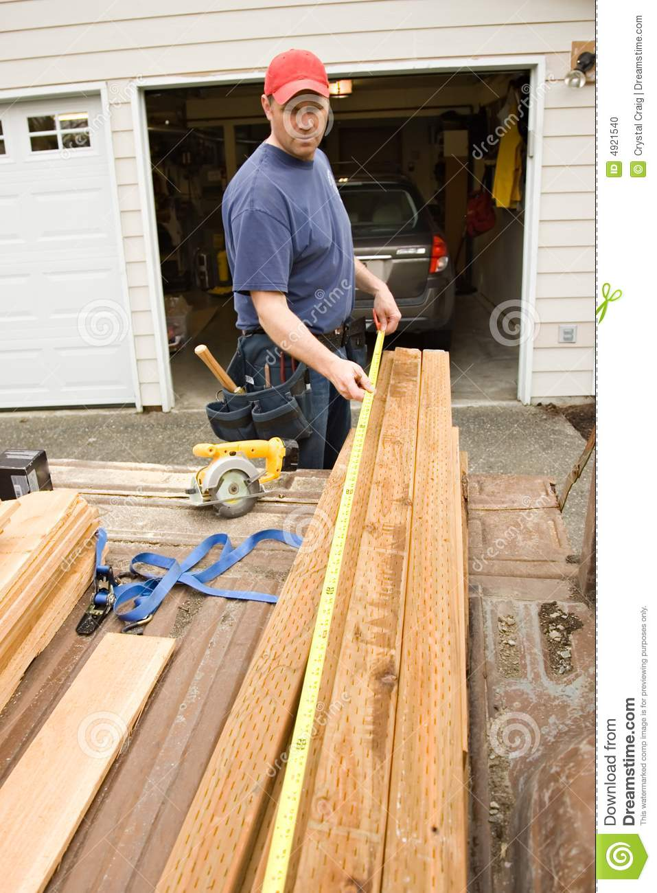 Handyman Home Repair Projects Stock Photo Image 4921540