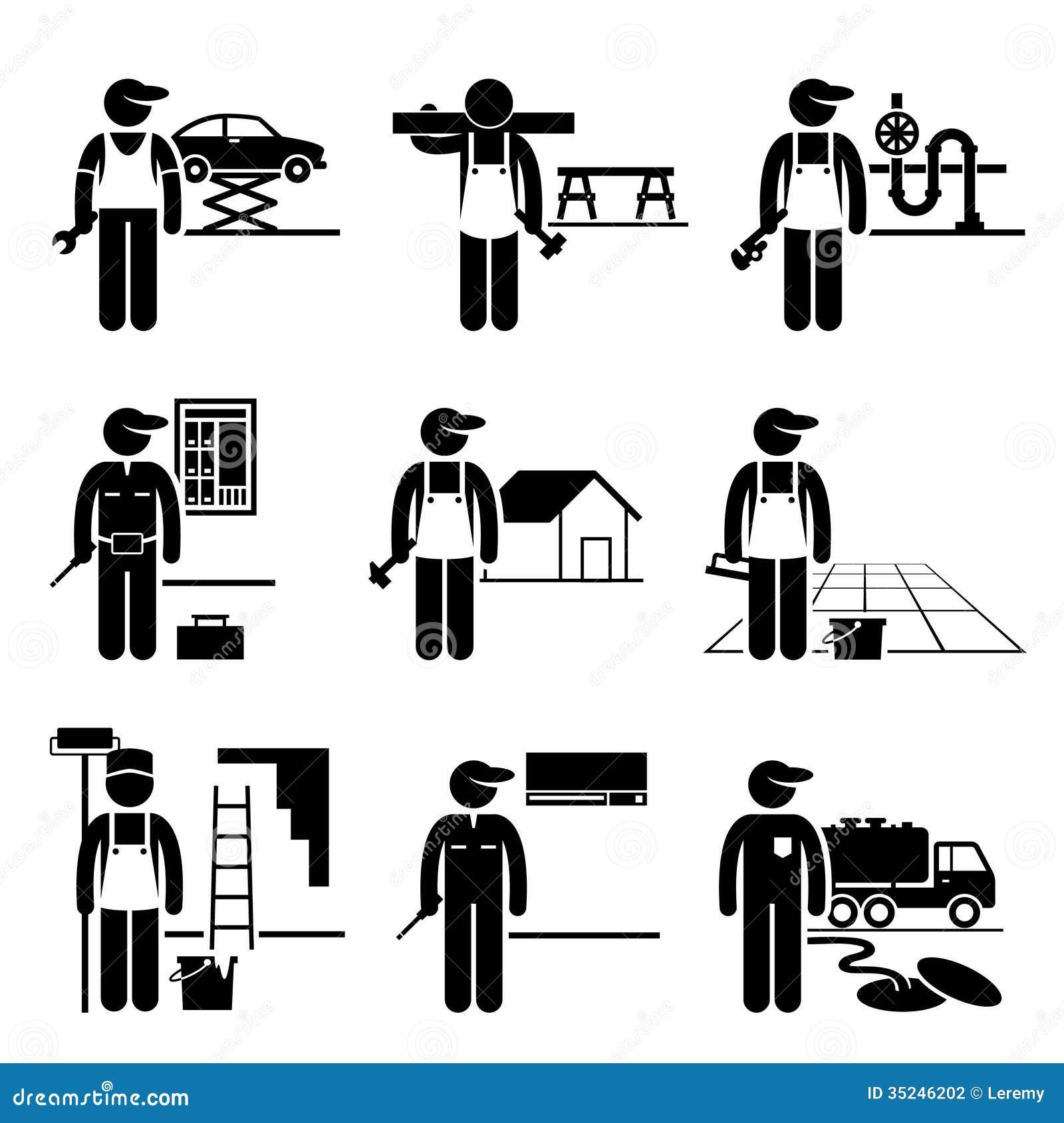 Handyman Labour Stock Illustrations 156 Vectors Clipart
