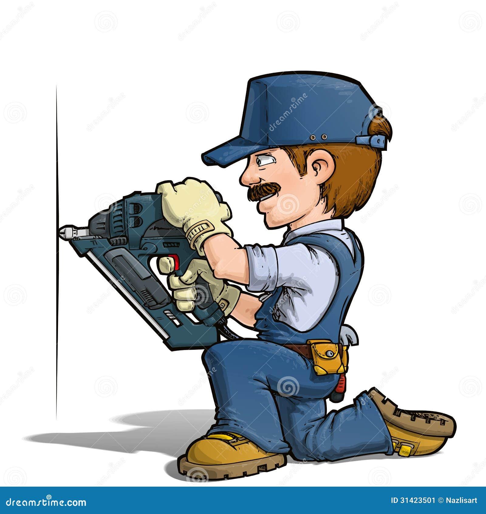 Handyman Nailing Stock Image Image 31423501