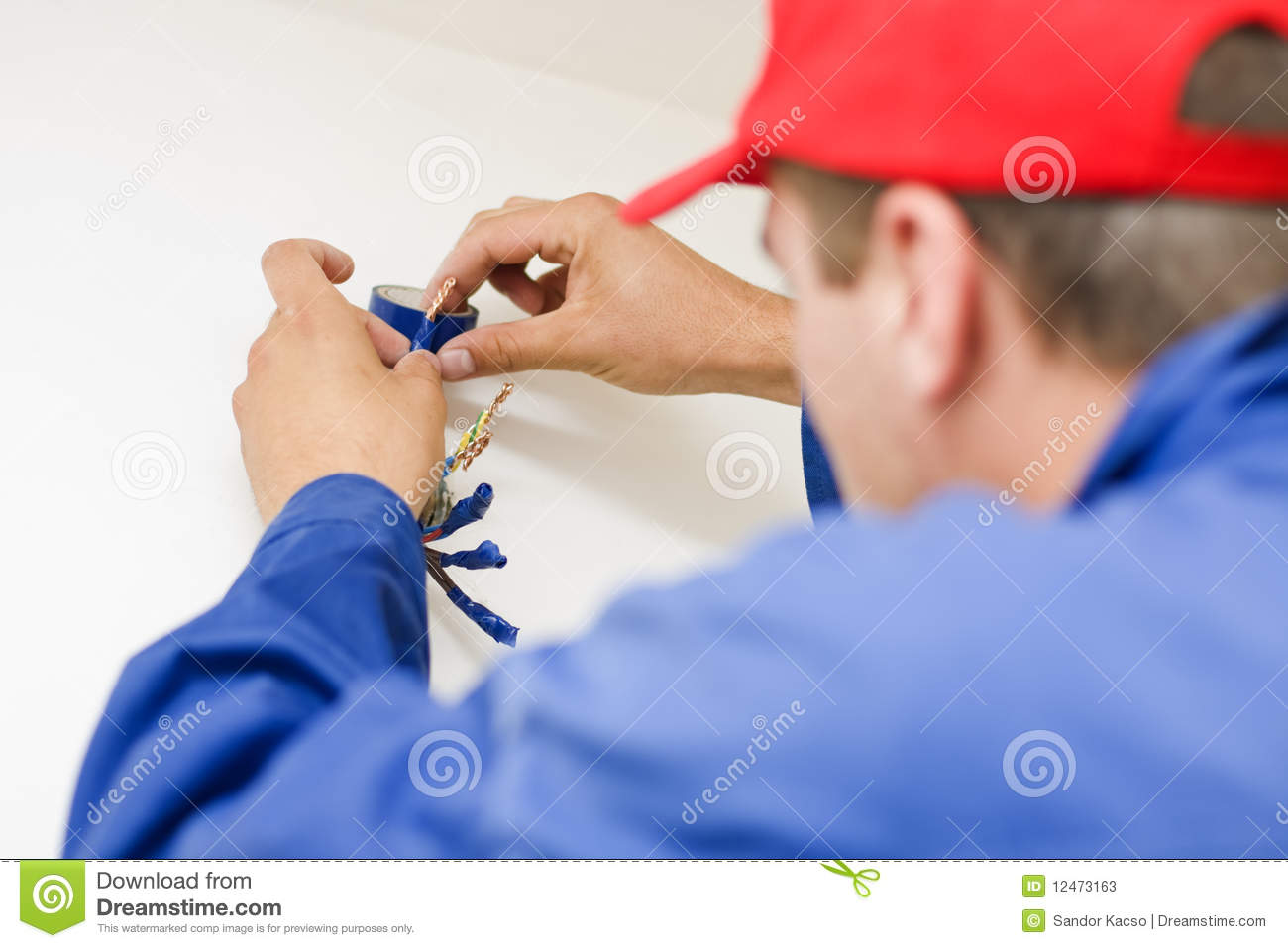 Handyman working