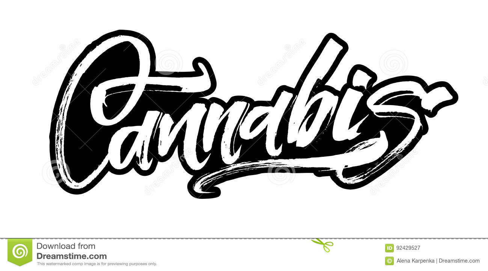 Hanf moderne kalligraphie handbeschriftung f r siebdruck - Letras para serigrafia ...
