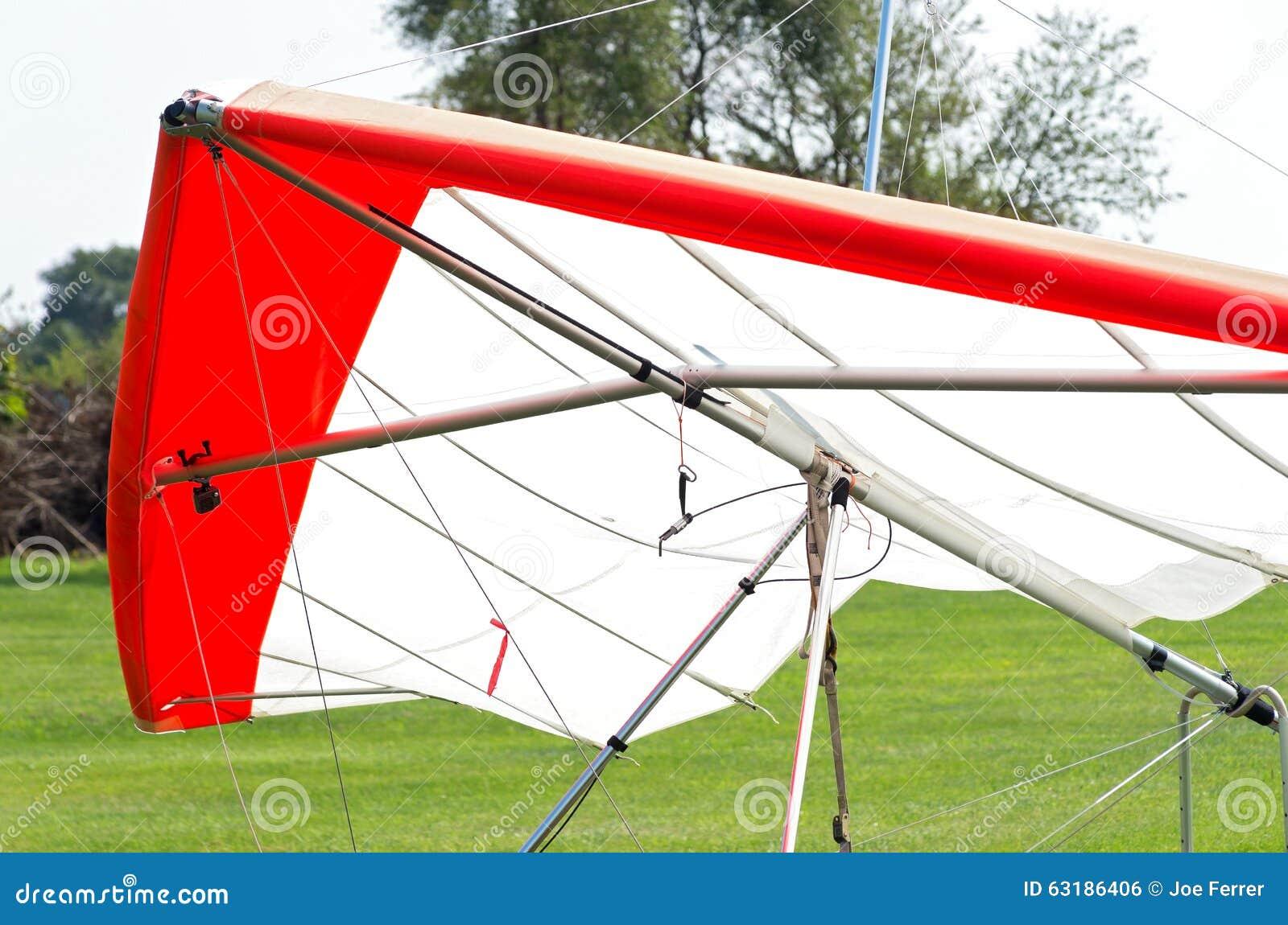 Hang Glider Closeup