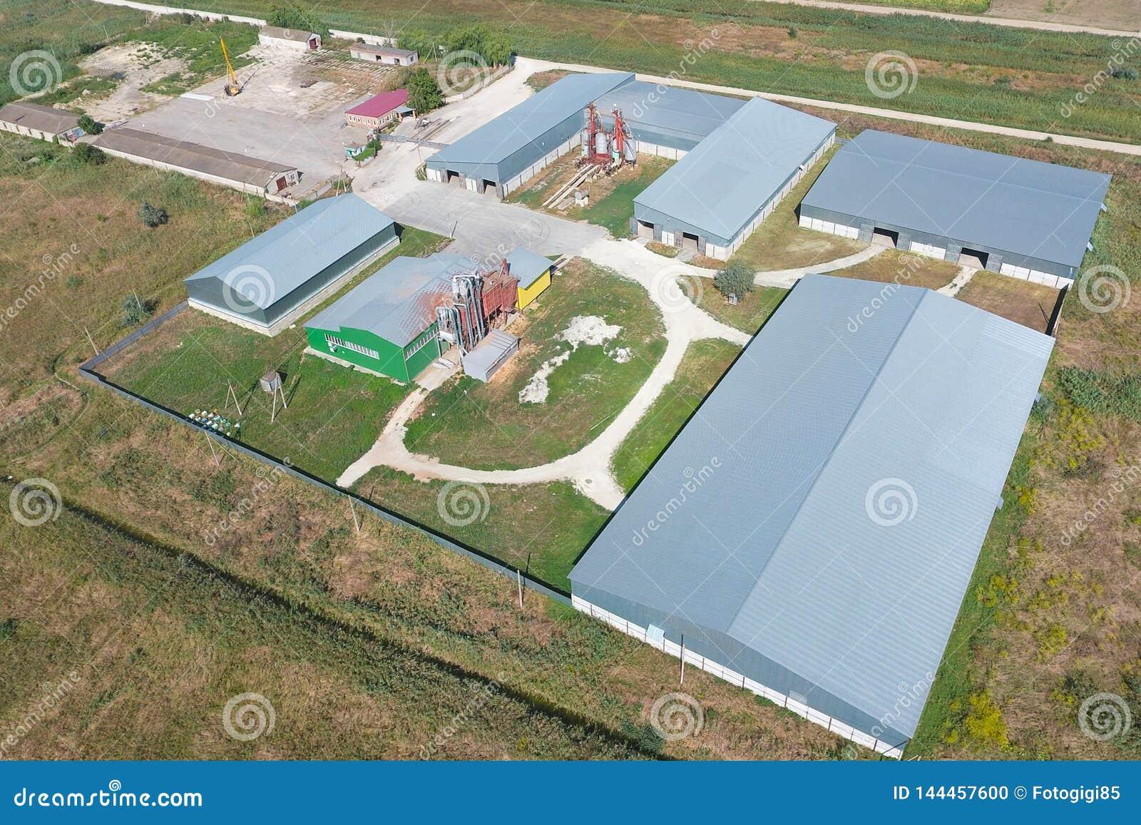 Hangar galwanizujący metali prześcieradła dla magazynu produkty rolni