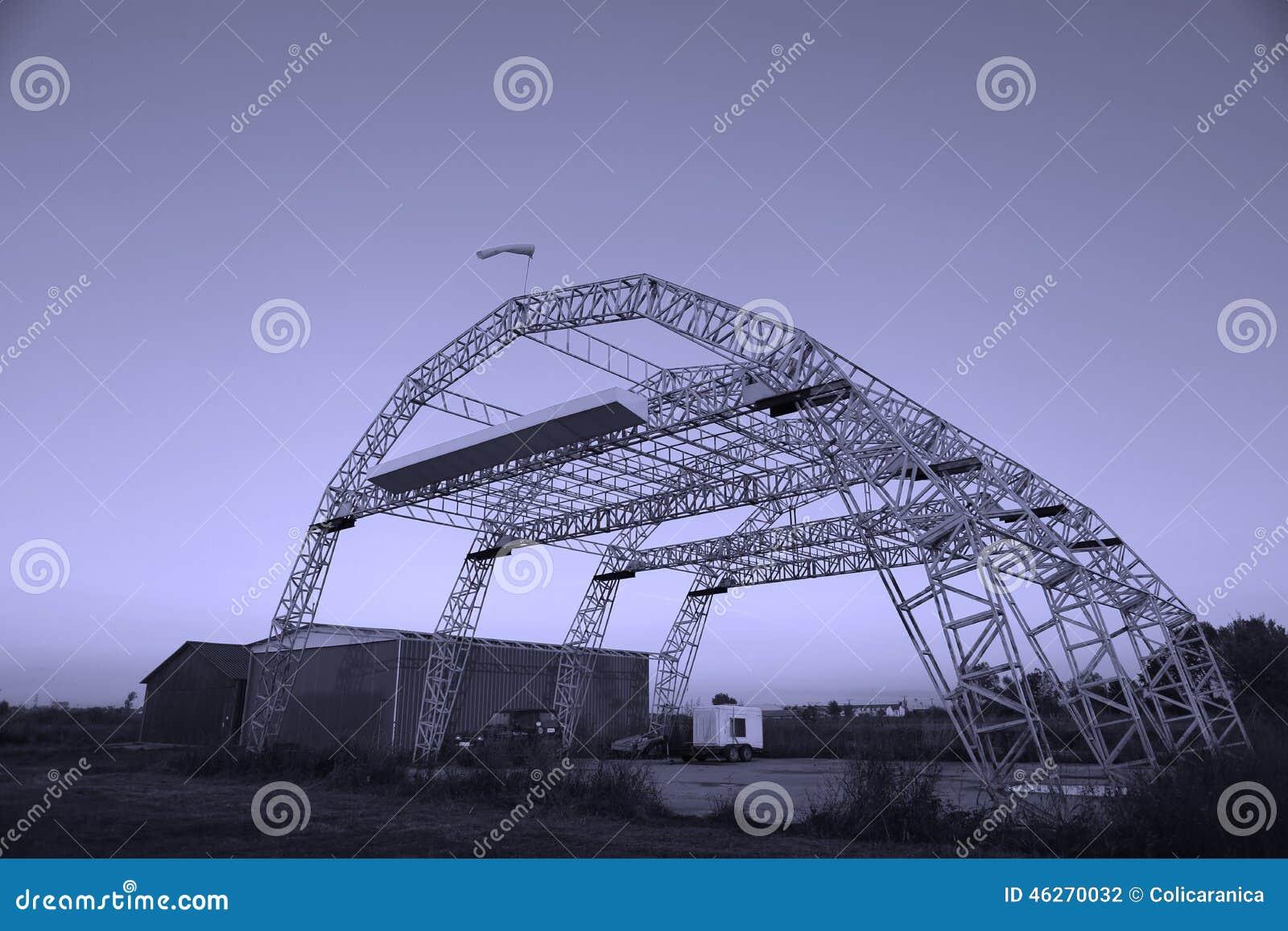 Hangar for planes