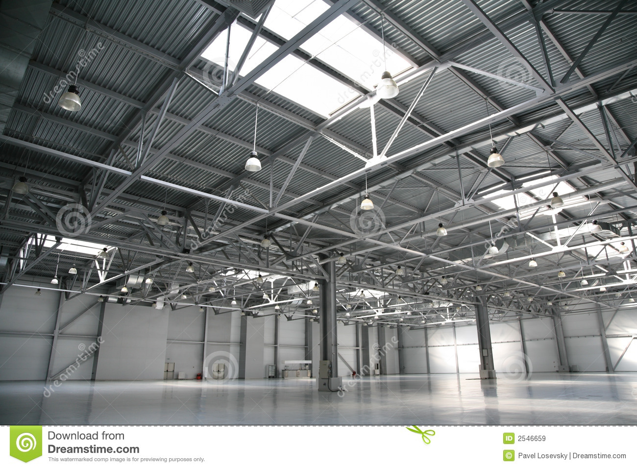 Hangar Warehouse Royalty Free Stock Images Image 2546659