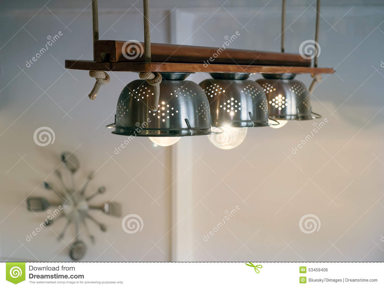 Hanged Diy Lamps Stock Photo Image 53459406