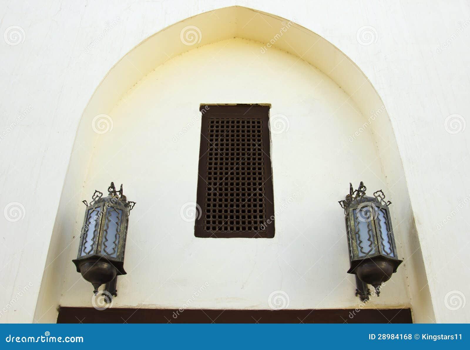 hangende arabische lampen stock foto afbeelding bestaande uit citadel 28984168. Black Bedroom Furniture Sets. Home Design Ideas